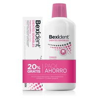 Pack Bexident Gums Daily Use Mouthwash + Toothpaste