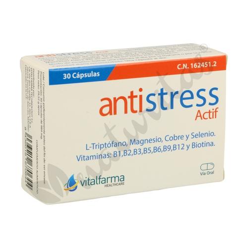 Antiestress Actif 30 cápsulas de Vitalfarma