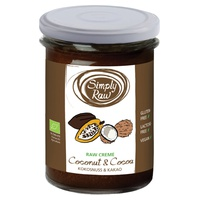 Crema Crudivegana de Coco y Cacao Bio - Raw
