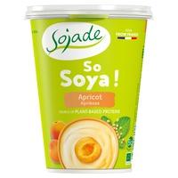 Yogur de soja de albaricoque bio