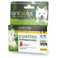 Pipetas antiparasitarias para perros pequeños y medianos