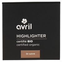 Highlighter Or Cuivré Certifié bio