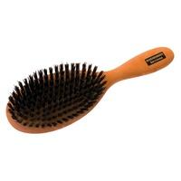 Pear hair brush, flat