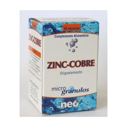 Zinc con Cobre