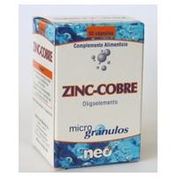 Zinc con Cobre 50 cápsulas de Neo Vital Health