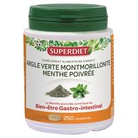 Montmorillonitgrüner Ton + Pfefferminze