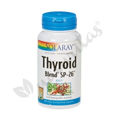 Thyroid Blend 100 cápsulas de Solaray - Kal