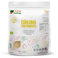 Eco Curcuma en poudre avec poivre noir moulu XXL Pack