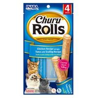Churu Rolls for Cats Tuna Recipe with Scallops