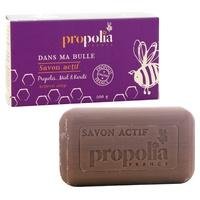 Active propolis, honey & shea soap