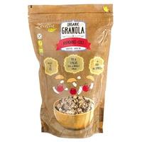 Granola biologique aux bleuets et noix de coco sans gluten