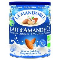 Organic Omega Almond Milk: probiotic - omega 3 - calcium