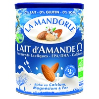 Lait d'Amande Oméga Bio : probiotique - oméga 3 - calcium