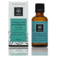 Olio da massaggio all'eucalipto