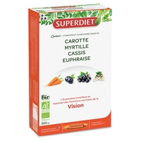 Bio Vision Quartet: Carrot, Blueberry, Blackcurrant, Eyebright