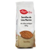 Semillas de Lino Marrón Bio
