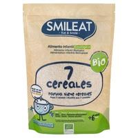 Papilla de 7 cereales ecológica 6m+