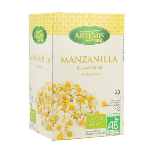 Manzanilla Bio 20 infusiones de Artemis