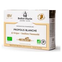 Dynamized preparation of French white organic propolis