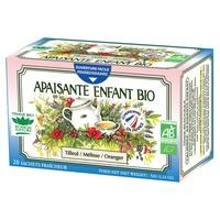 Organiczna kojąca herbata ziołowa dla dzieci