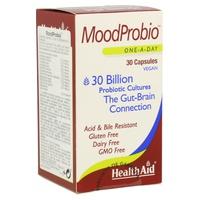 MoodProbio 30.000 millones 30 Cápsulas Veganas de Health Aid