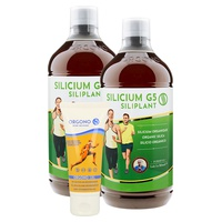 Pack de 2 Silicium G5 Siliplant y 1 Orgono gel