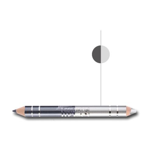 I colori Bio dúo de lápiz de ojos Ópalo y Antracita