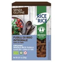 Fusilli de arroz integral