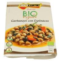Garbanzos con Espinacas Bio