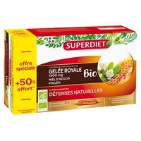 Gelée Royale Miel Pollen 50% Offert