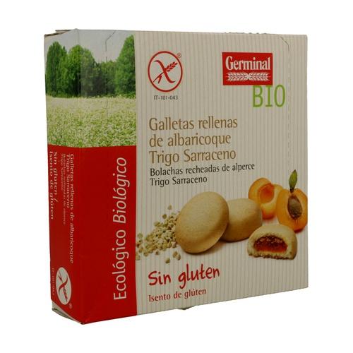 Galletas de Trigo Sarraceno con Crema de Albaricoque Bio