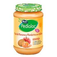 Hero Baby Pedialoc Puré de manzana y mandarina con galleta