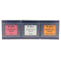 Box of 3 scented Aleppo soaps