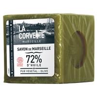 Cubo de jabón de Marsella de oliva