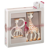 My first set Sophie la girafe + teething ring
