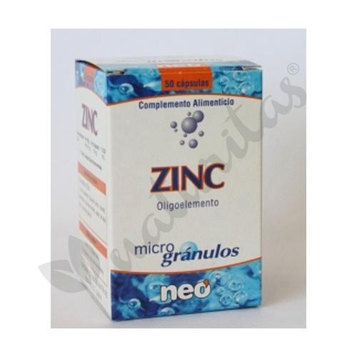 Zinc  50 cápsulas de Neo Vital Health