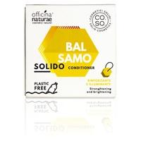 Linea CO.SO Cosmetici Solidi- Bálsamo sólido amplificador e iluminador con castaño y abedul