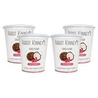 Yogur de Coco y Frambuesa