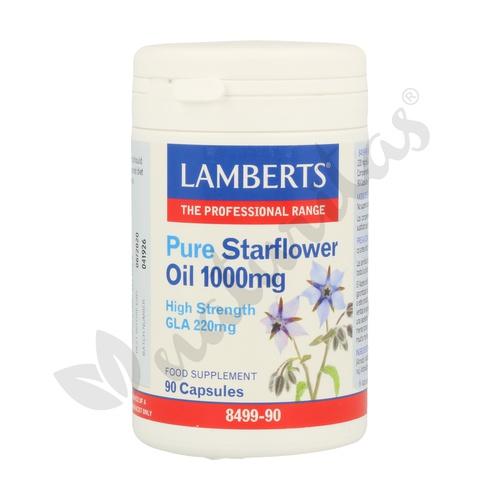 Aceite de Borraja Puro (Starflower Oil) 90 cápsulas de 1000 mg de Lamberts