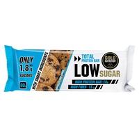 Barre Total Protein Bar Low Sugar (pépites de chocolat et biscuits)