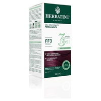 Hair Dye Permanent Coloring Gel 3 Doses FF3 Plum