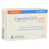 Coenzima Q10 30 cápsulas de 40 mg de Vitalfarma