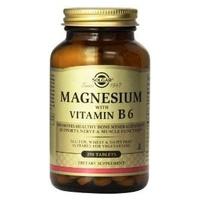 Solgar Magnesio con Vitamina B6