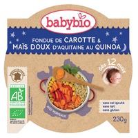 Prato Legumes com Quinoa Bio (a partir de 12 meses)