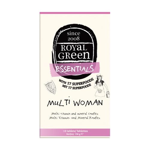 MultiWoman Vitaminas y Minerales 60 Cápsulas de Royal Green
