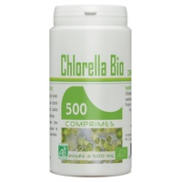 Organic Chlorella tablets 500mg