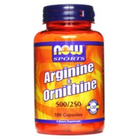 Arginine & Ornithine 500/120 mg