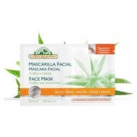 Mascarilla Facial Bio Aloe Vera y Salvia