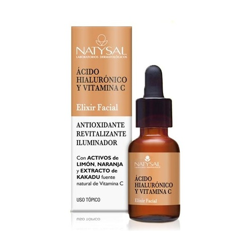 Elixir Facial con Ácido Hialurónico y Vitamina C