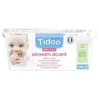 Bâtonnets sécurité bébé en coton bio